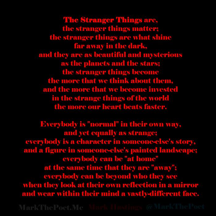 TheStrangerThings-poem