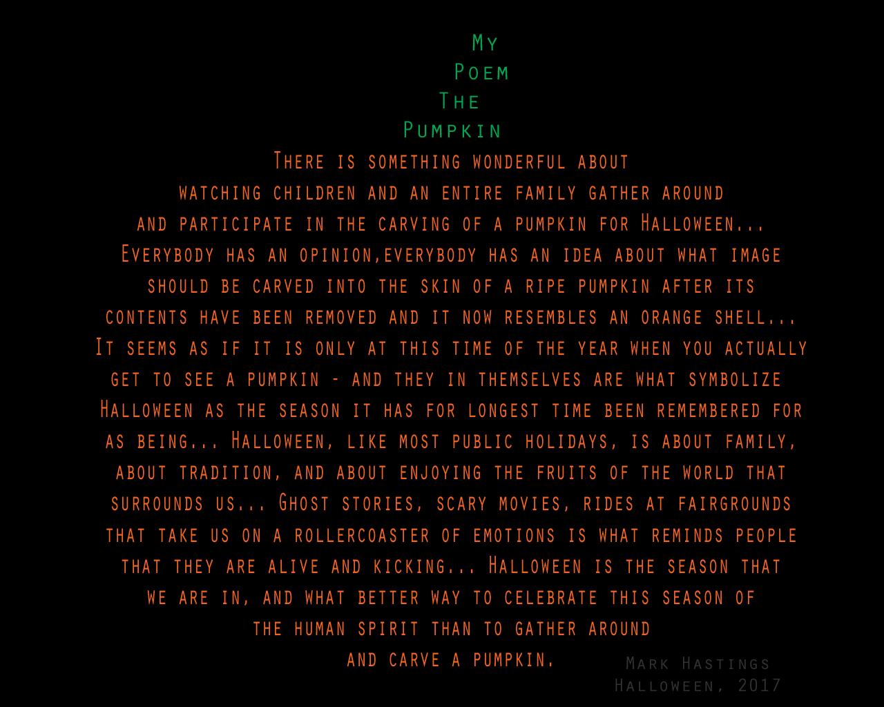 MyPoem-ThePumpkin